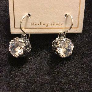 Jewelry - Earrings Unique CZ Sterling Silver Israel 925